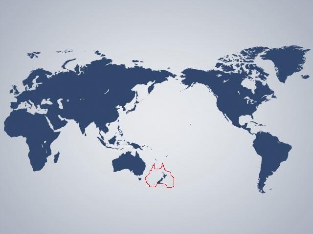 マンデラエフェクトすごい…オーストラリアの位置違うし、あのロゴも違ってることに気づいた
