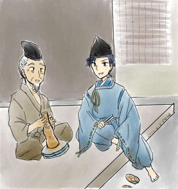 芥川龍之介「運」青侍と陶器師の老人
